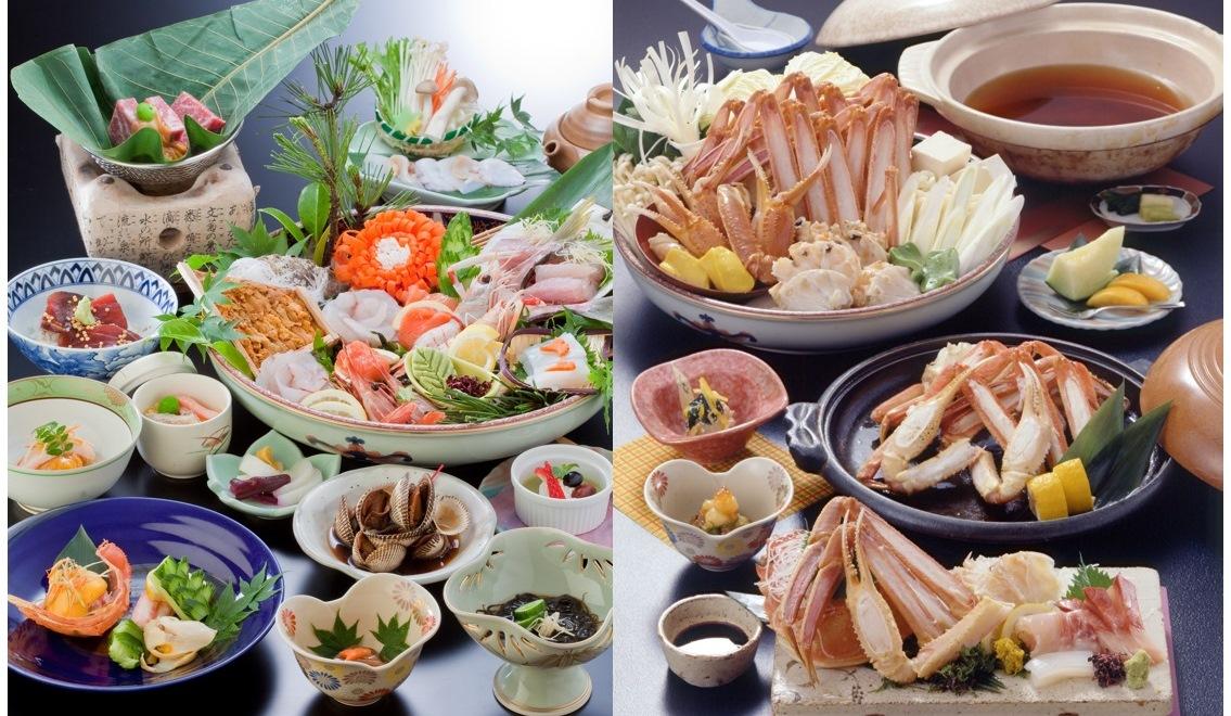 海潮園とのコラボプラン 夕食イメージ