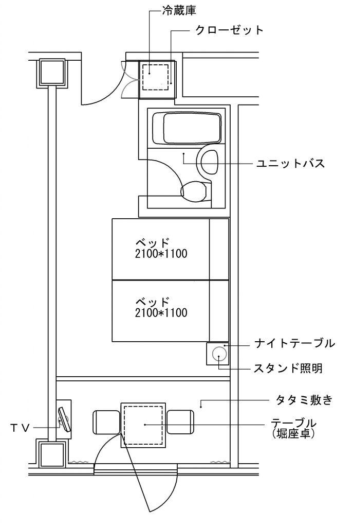 パークサイド&タタミダブル図面